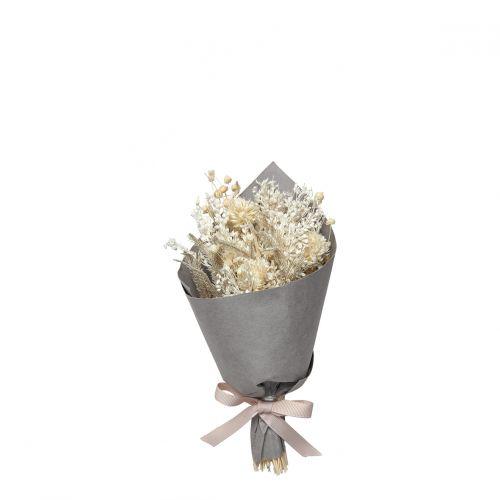 Bouquet de fleurs séchées ivoire - Petit modèle