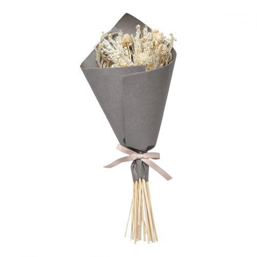 Bouquet de fleurs séchées ivoire - Grand modèle