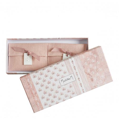 Coffret de 2 pochettes parfumées Palazzo Bello - Marquise