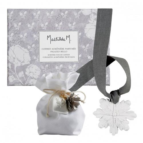 Coffret aumônière parfumée Palazzo Bello - Fleur de Coton