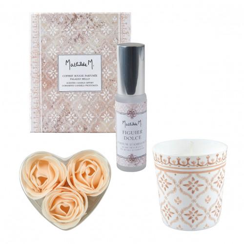 Coffret bougie parfumée Palazzo Bello - Figuier Dolce
