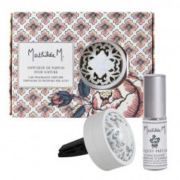 Diffuseur de parfum pour voiture Escapades Parfumées - Bouquet Précieux