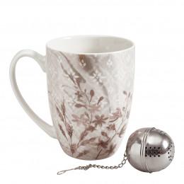 Coffret mug et boule à thé Palazzo Bello