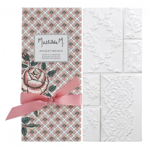 Tablette parfumée Dentelle - Bouquet Précieux