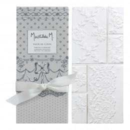 Tablette parfumée Dentelle - Fleur de Coton