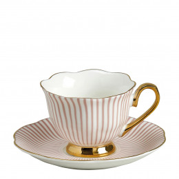 Tasse à café Madame de Récamier - Rose