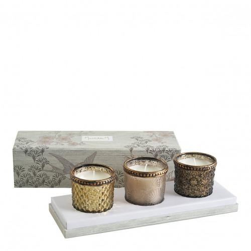 Coffret bougies parfumées Jardin d'Ailleurs