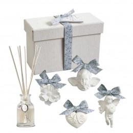 Coffret diffuseur de parfum d'ambiance Les présents de Mathilde - Fleur de Coton