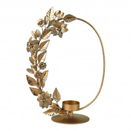 photophore metal oval or
