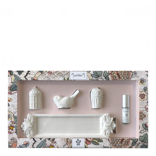 Coffret de 3 miniatures parfumées Jardins de Fantaisies - Bouquet Précieux
