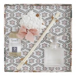 Coffret diffuseur de parfum d'ambiance Jardins de Fantaisies - Bouquet Précieux