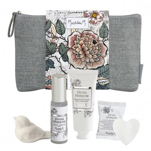 Trousse Secrets de beauté parfumés Jardins de Fantaisies - Divine Marquise