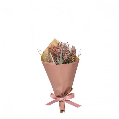 Bouquet de fleurs séchées pourpre - Petit modèle