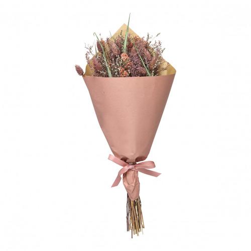 Bouquet de fleurs séchées pourpre - Grand modèle