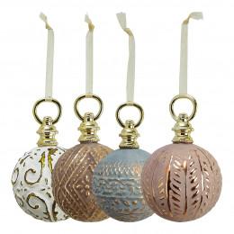 Set de 8 boules à suspendre Cabinet des Merveilles